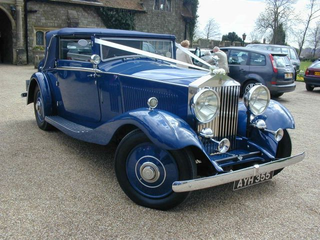 Vintage Rolls Royce Wedding Hire 55